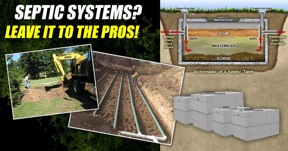 Septic Systems Installation And Repair Services Arkansas