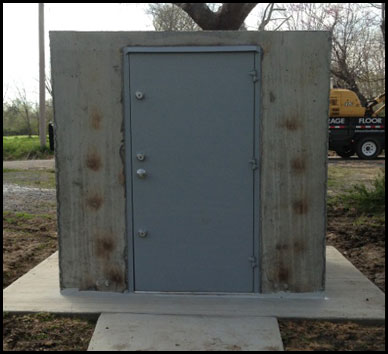 Concrete Safe Rooms in Arkansas