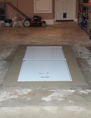 F-5 Garage Floor Shelter Systems