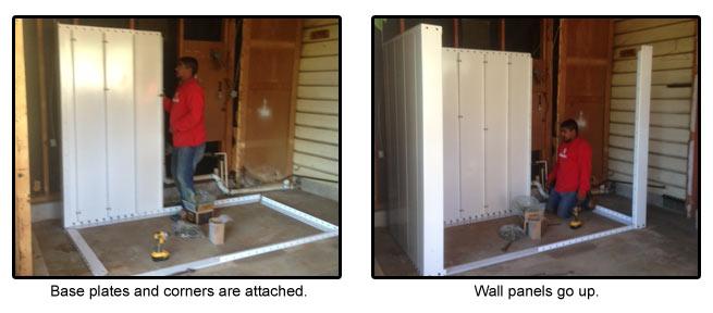 Bolt Together Safe Room Installation Tornado Shelter