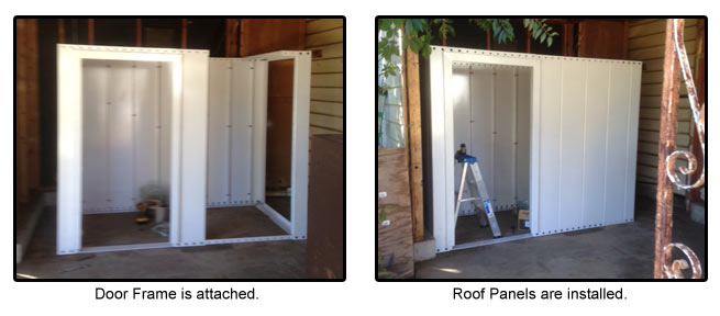 Bolt Together Safe Room Installation Tornado Shelter