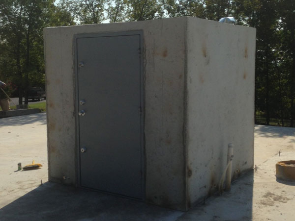 Concrete Safe Rooms Gallery Arkansas Storm Shelters