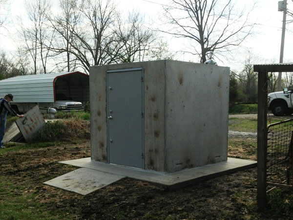 Concrete Safe Rooms Photo Gallery In Arkansas Arkansas