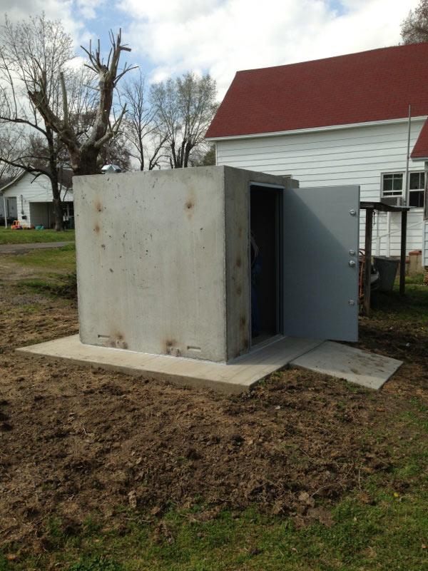 Concrete Safe Rooms Photo Gallery In Arkansas Arkansas