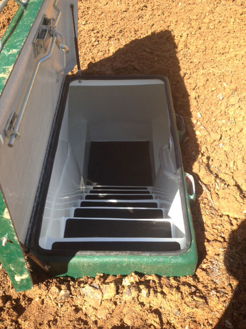 Fiberglass Storm Shelter Photo Gallery In Arkansas