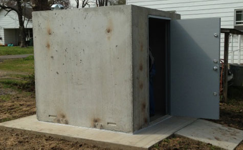 Concrete Safe Rooms In Arkansas Arkansas Storm Shelters
